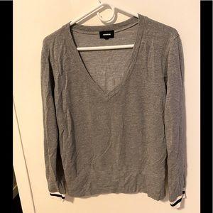 Monroe Vneck sweater/shirt🤍